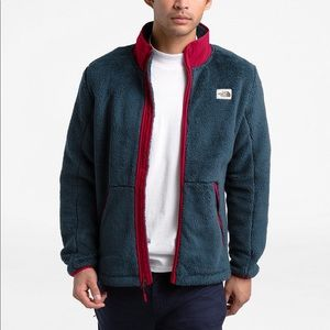 The North Face Full Zip Sherpa Fleece Jacket Large